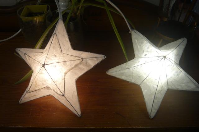 星(twinkle star)2種 2個組スイッチなし