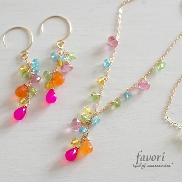 【一点物商品】candy colorネックレス&...