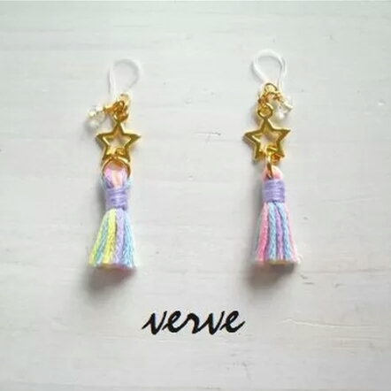 <再販>STAR:TASSEL pierce