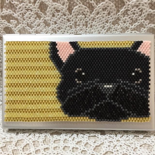 カードケース(フレンチブルドッグ?)