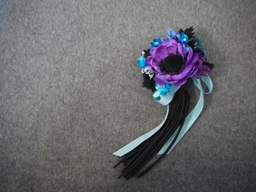 ファンタジーマーガレット  花束コサー...