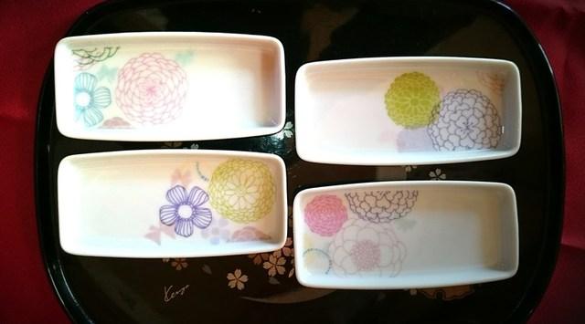 和の祝い小皿