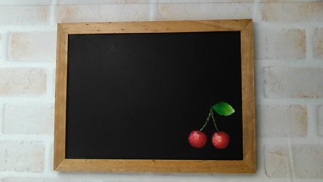 さくらんぼのマグネットボード