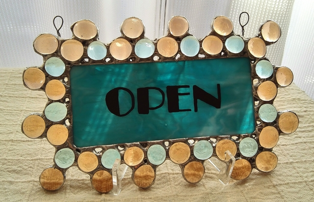ステンドグラス openパネル