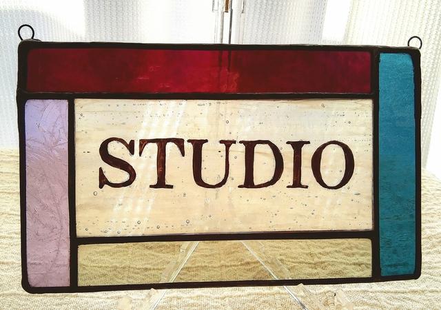 ステンドグラス スタジオパネル