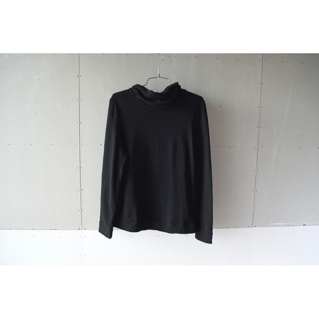 OFF TURTLE NECK T-SHIRTS BLACK【SIZE...