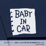 BABY IN CAR:メモデザイン