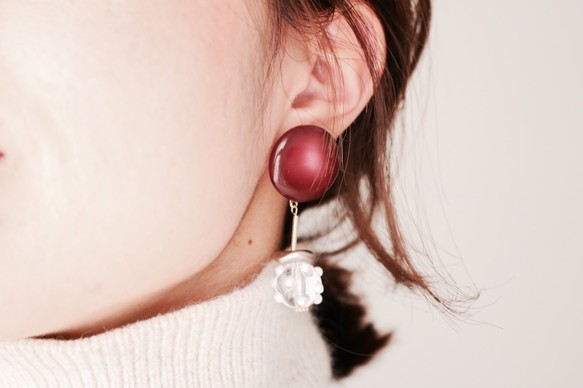 WineColor&ClearBall Pierce