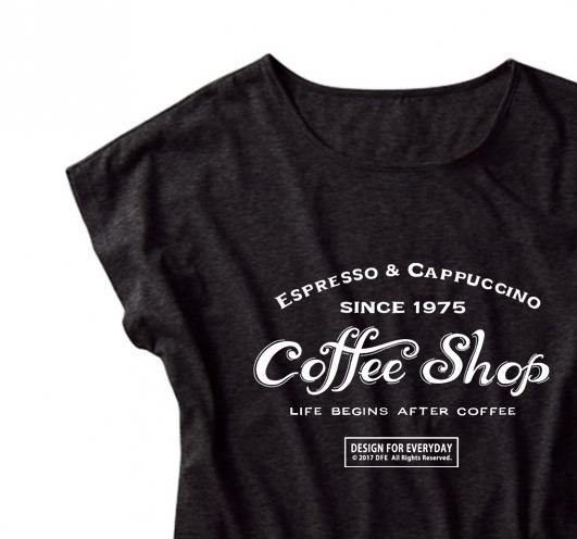 【注意!薄手生地】カフェ(COFFEE SHOP...