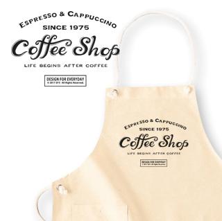 カフェ(COFFEE SHOP) カラーエプロン...