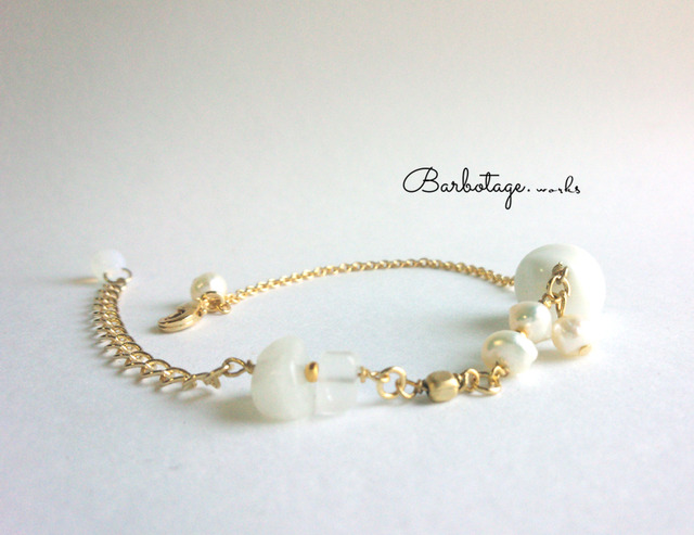 【再販】le bracelet crème【Br.006】