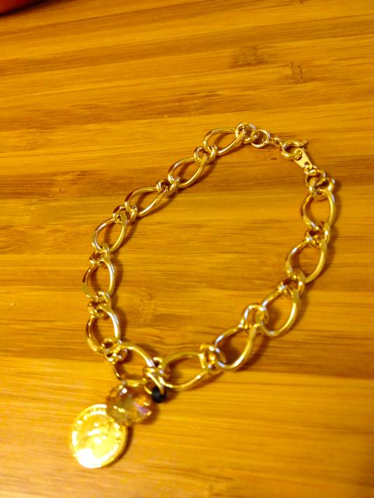 ブレスレット*gold chain