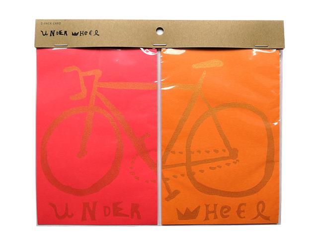 UNDER WHEEL��2-pack card��