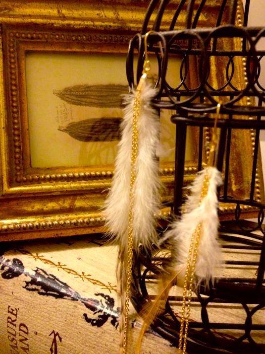 ピアス*feather
