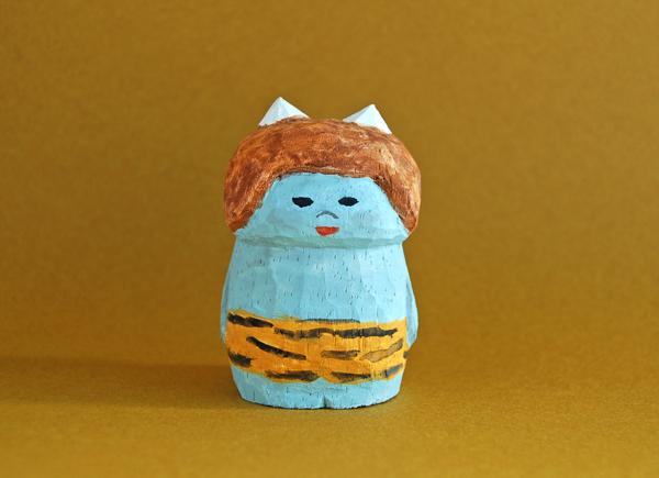 木彫り人形 青鬼ちゃん [MWF-280]