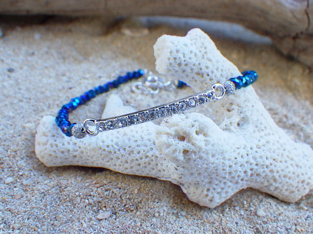 Deep Sea Sparkle Bracelet