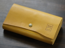 革の長財布 Long WALLET / naturalcut / Yellow