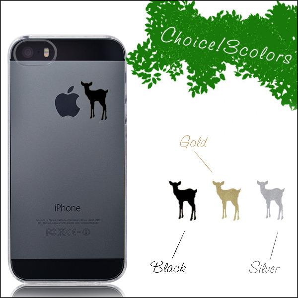 りんごを見つけたバンビケース iPhone ケース