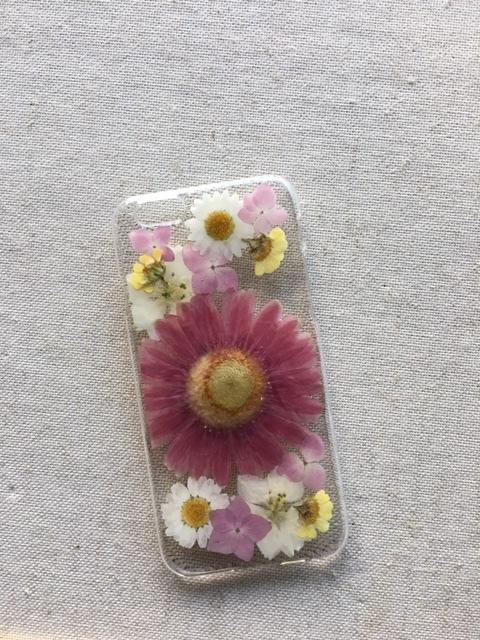iphone6/6S  押し花ケース