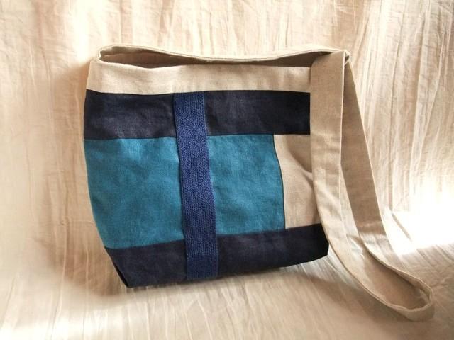 itoiro bag (blue blue)
