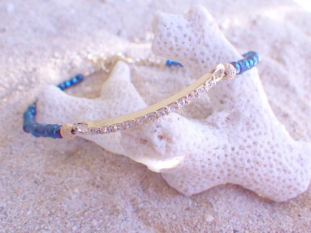 Deep Sea Sparkle Bracelet*ゴールドメ...