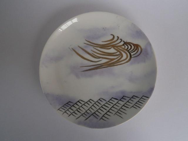 古典模様の皿