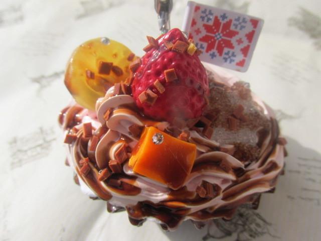 ピンク・ホイップ カップケーキのメモ...