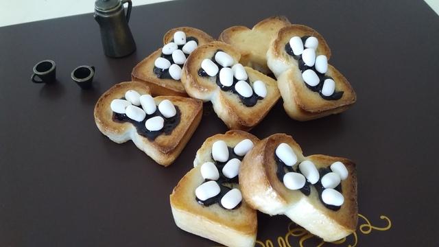 あまぁ〜い? チョコ&マシュマロ食パン