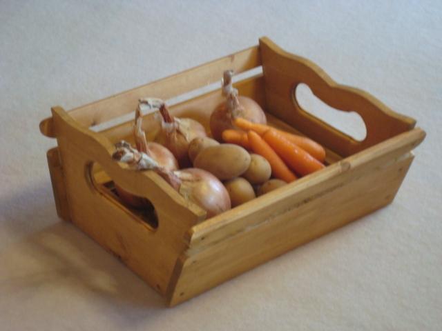 果物・野菜用ウッドボックス(新作!)