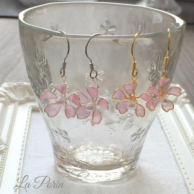 桜咲くピアス