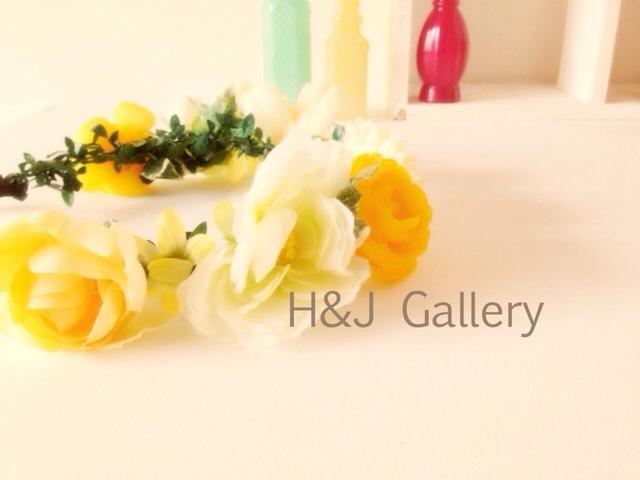 花冠 イエローフラワー