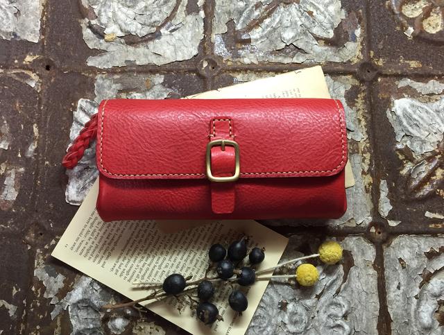 *受注生産*Long Wallet (red)