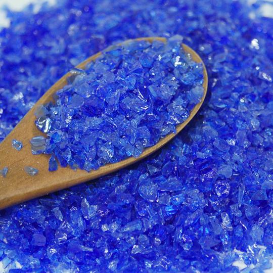 米国製ガラスフリット(40g)ブルー