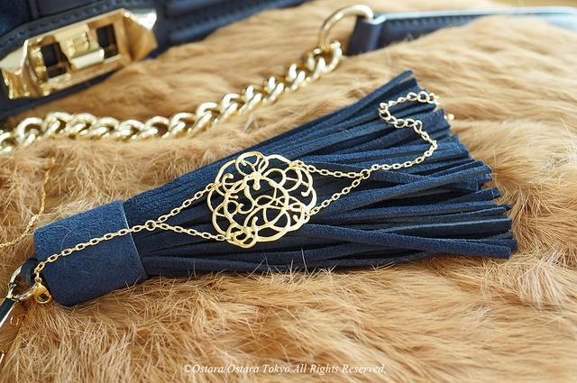Double Chain Matt Gold Bracelet, Filigree