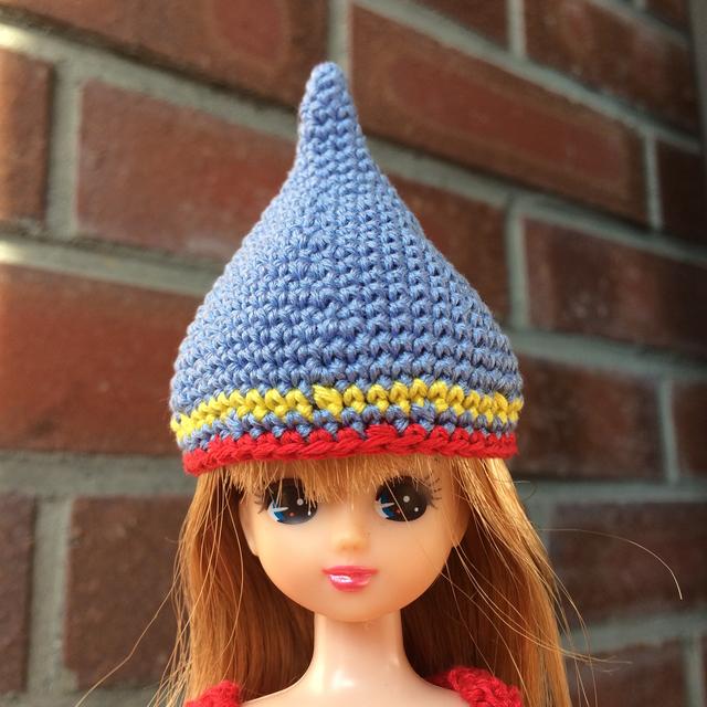 リカちゃん用 どんぐり帽子?