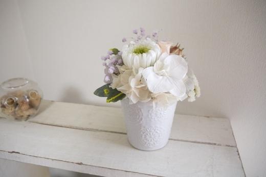 お供え花 ホワイトコチョウラン