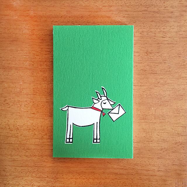 ヤギさん郵便 メッセージカード10枚セット