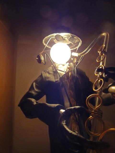 jazz・・・卓上ライト LLサイズ  sax...