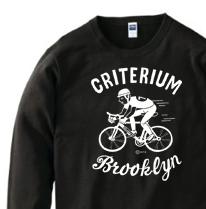 ブルックリン★自転車レース トレーナー【受注生産品】