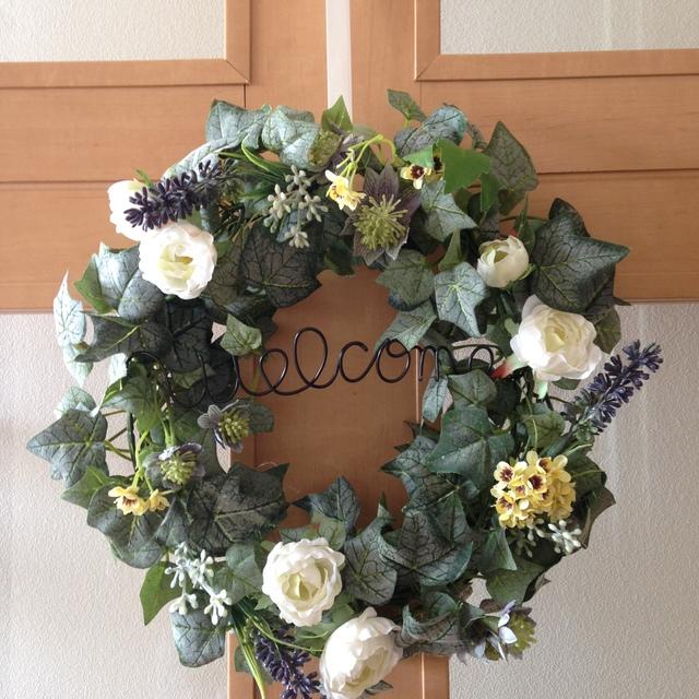 アイビーのwelcome wreath(アーティフィ...