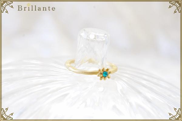 petit florence ring (SG-emerald)