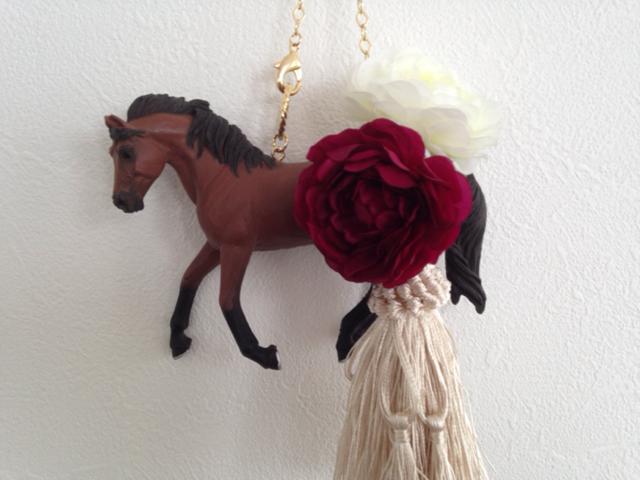 【SALE】お馬のバッグチャーム
