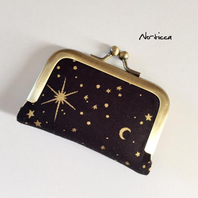 新作★ミニがま口★wonderful starry sk...