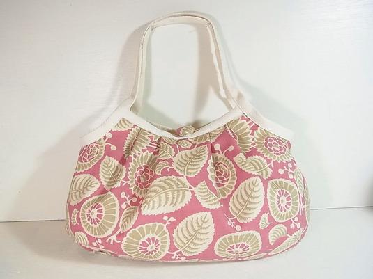 小さめグラニーバッグ「ボタニックピンク」