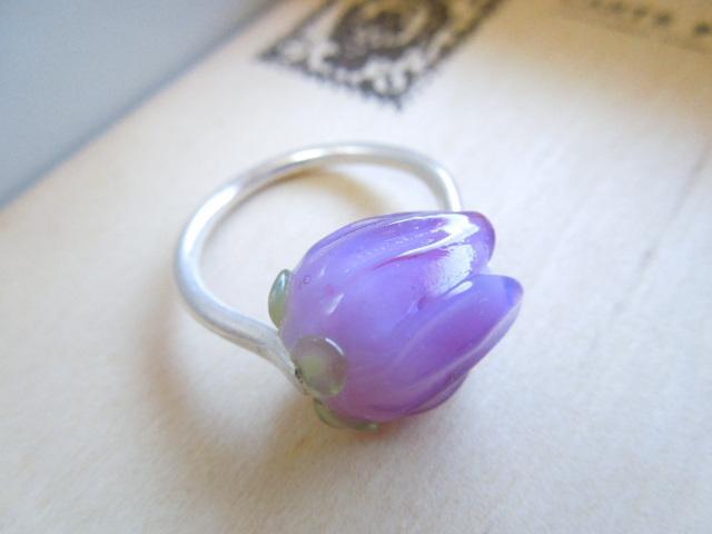 【FT】薔薇のつぼみリング(ペールパー...