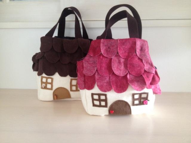 森のお家バッグ
