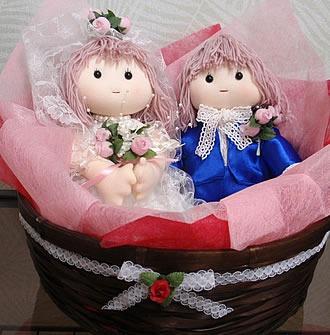 ブライダルドール 【手作り人形】