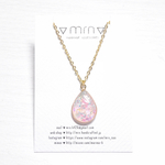 KIRAKIRA drop necklace