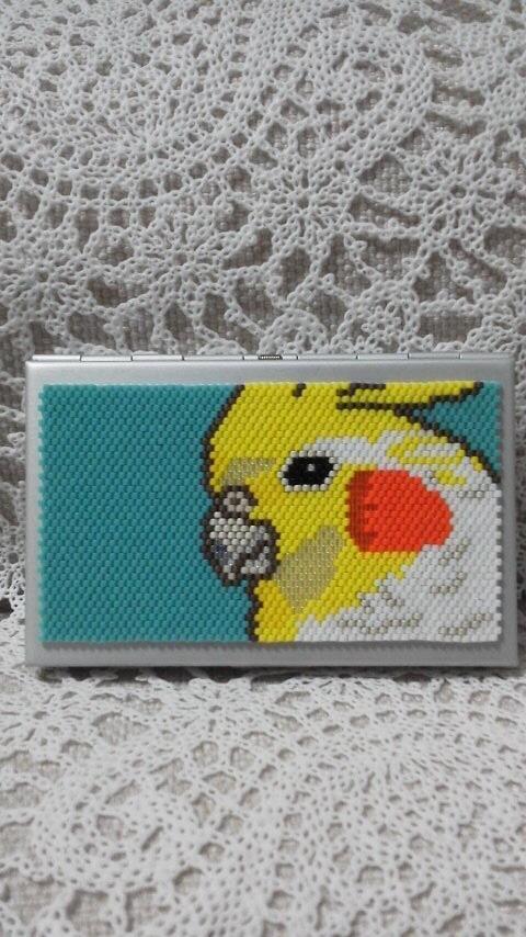 カードケース(オカメインコ)