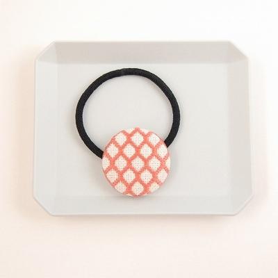 【NEW】こぎんのヘアゴム 【珊瑚・編み...